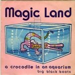 [Pochette de A crocodile in an aquarium]
