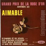 [Pochette de Grand Prix de la Rose d'or - Antibes 65]