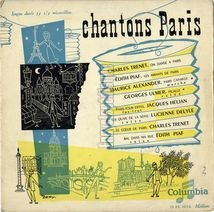 [Pochette de Chantons Paris]
