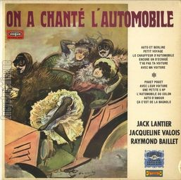 [Pochette de On a chanté l'automobile]