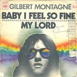 [Pochette de Baby I feel so fine / My lord]