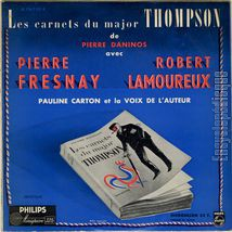 [Pochette de Les carnets du major Thompson]
