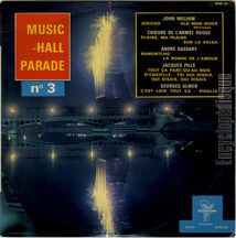 [Pochette de Music-Hall parade n° 3]