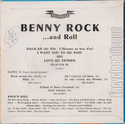 [Pochette de …and Roll (Benny ROCK) - verso]