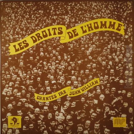 [Pochette de Les droits de l'homme (John WILLIAM)]