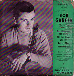 [Pochette de Too marvelous for words (Bob GARCIA Quartet)]