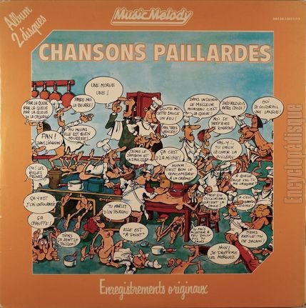 Encyclopdisque Disque Chansons Paillardes