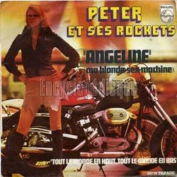 [Pochette de Angeline (Ma blonde sex-machine) (PETER ET SES ROCKETS)]