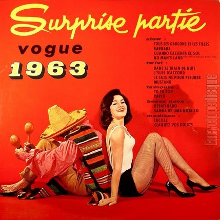[Pochette de Surprise partie Vogue 1963 (COMPILATION) - verso]