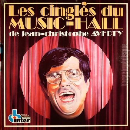 [Pochette de Les Cinglés du Music-Hall de Jean-Christophe Averty (COMPILATION)]
