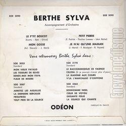 Berthe Sylva - Le P'tit Boscot - Je N'ai Qu'Une Maman