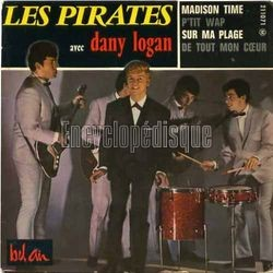 [Pochette de Madison time (Les PIRATES avec Dany LOGAN)]