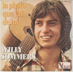 [Pochette de Premier amour (Willy SOMMERS) - verso]