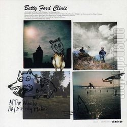 [Pochette de BETTY FORD CLINIC - « The whale / Melody maker » (Les ANGLOPHILES) - verso]