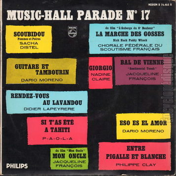 [Pochette de Music-Hall parade n° 17 (MUSIC-HALL PARADE)]