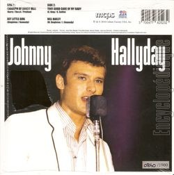 [Pochette de Caravan of lonely men / Hey little girl (Johnny HALLYDAY) - verso]