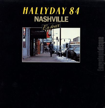 [Pochette de Hallyday 84 Nashville - en direct - (Johnny HALLYDAY)]