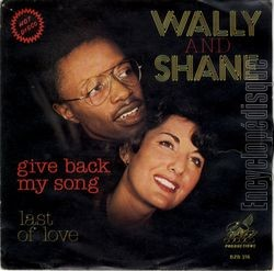[Pochette de Give back my song (WALLY AND SHANE)]