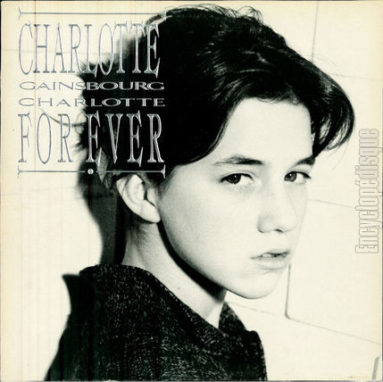 [Pochette de Charlotte for ever (Charlotte GAINSBOURG)]