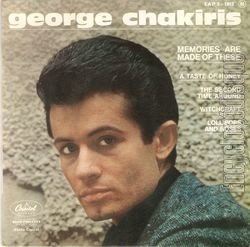 [Pochette de Memories are made of these (George CHAKIRIS)]