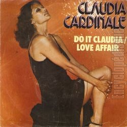 [Pochette de Love affair - Do it Claudia (Claudia CARDINALE)]