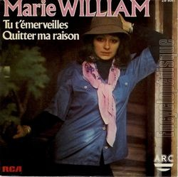 [Pochette de Tu t'émerveilles (Marie WILLIAM)]