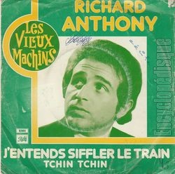 [Pochette de J'entends siffler le train (Richard ANTHONY)]