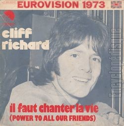 [Pochette de Cliff RICHARD - «Il faut chanter la vie» (EUROVISION)]