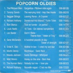 [Pochette de Donne-moi ma chance - popcorn oldies N°4 (Richard ANTHONY) - verso]