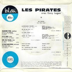 [Pochette de Madison time (Les PIRATES avec Dany LOGAN) - verso]