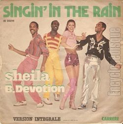 [Pochette de Singin' in the rain (SHEILA B. DEVOTION) - verso]