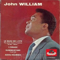 [Pochette de Le bleu de l'été (John WILLIAM)]