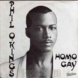 [Pochette de Homo gay (Phil O'KINGS)]