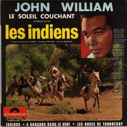 [Pochette de Les indiens (John WILLIAM)]