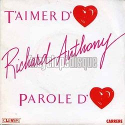 [Pochette de T'aimer d'amour (Richard ANTHONY)]