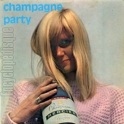 [Pochette de Champagne party (David Whitaker joue Loulou Gasté) (David WHITAKER)]
