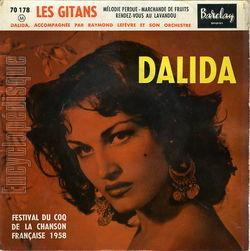 [Pochette de Les gitans - N°12 (DALIDA)]