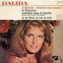 [Pochette de Il silenzio - Bonsoir mon amour (DALIDA)]