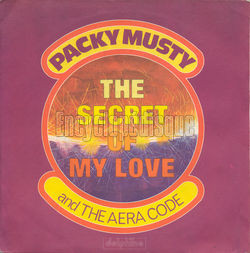 [Pochette de The secret of my love (PACKY MUSTY AND THE AREA CODE)]