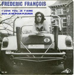 [Pochette de I love you, je t'aime (Frédéric FRANÇOIS)]