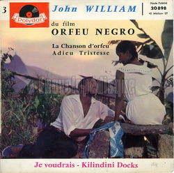 [Pochette de La chanson d'Orfeu (John WILLIAM)]