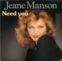 [Pochette de Need you (Jeane MANSON)]