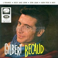 [Pochette de L'orange (Gilbert BÉCAUD)]