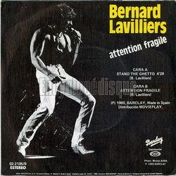 bernard lavilliers stand the ghetto
