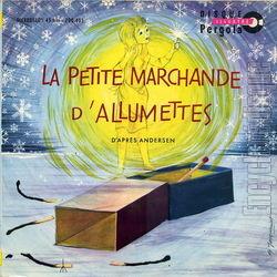 Encyclopdisque disque la petite marchande d 39 allumettes - La petite marchande angers ...