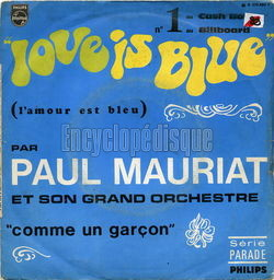 [Pochette de Love is blue (Paul MAURIAT)]