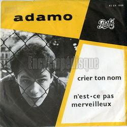 Adamo - Alleen Voor Jou (Amour Perdu)