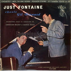 [Pochette de Just Fontaine chante Gil Bernard (Just FONTAINE)]