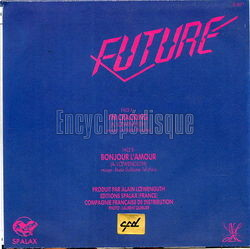 [Pochette de I'm cracking (FUTURE) - verso]