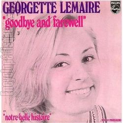 [Pochette de Goodbye and farewell (Georgette LEMAIRE)]